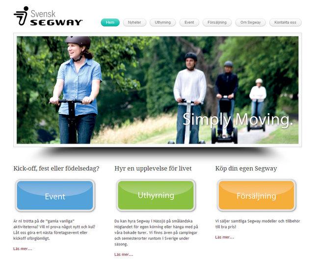svensksegway-skärmbild